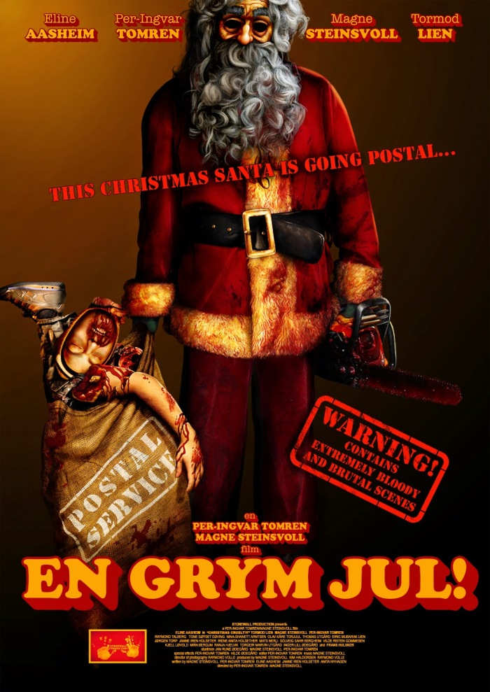 en grym jul swedish poster