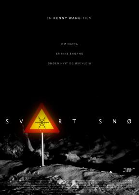 svart snö teaser poster