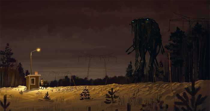 2121 concept art by Simon Stålenhag.